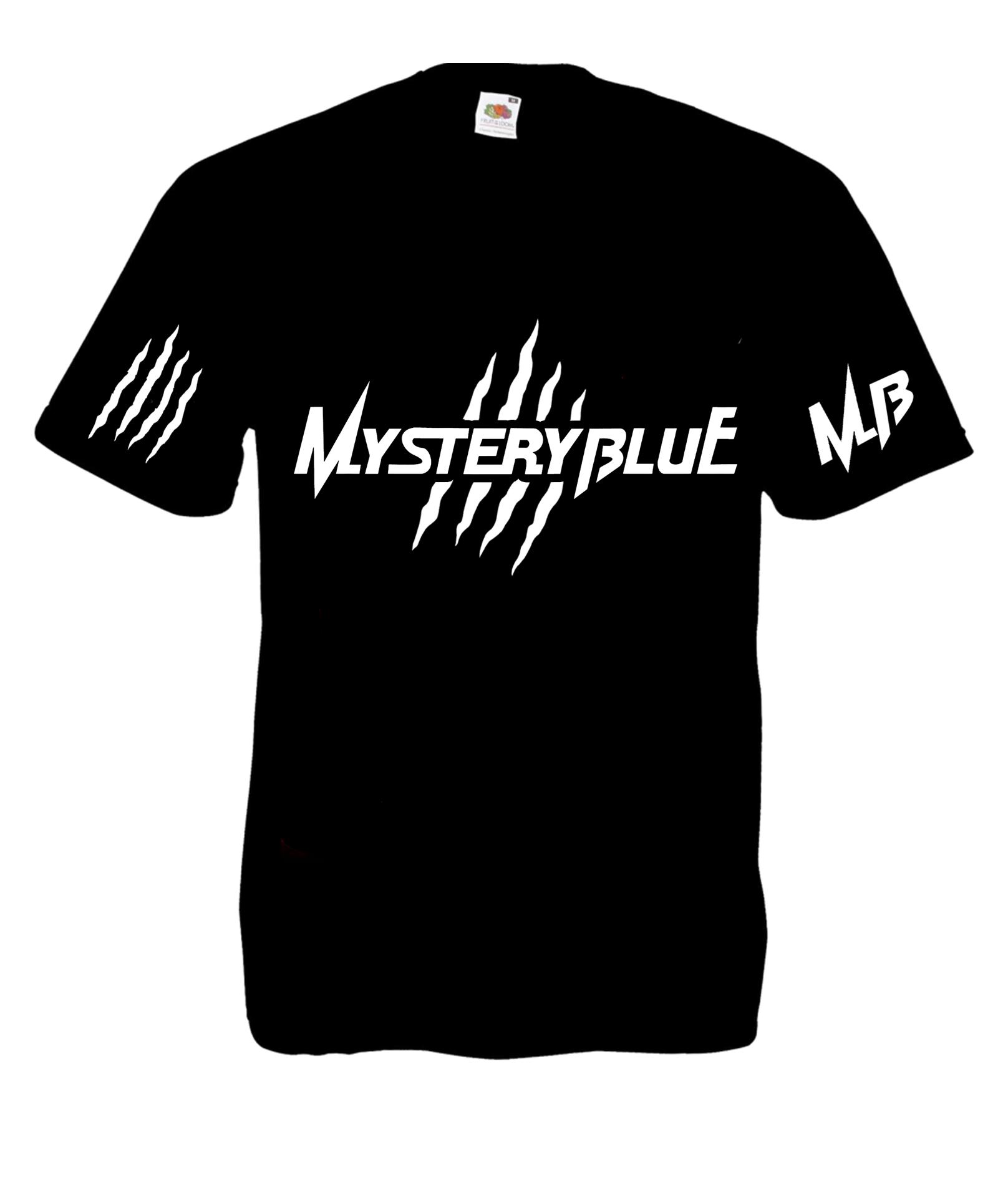 Mystery Blue Logo T-Shirt