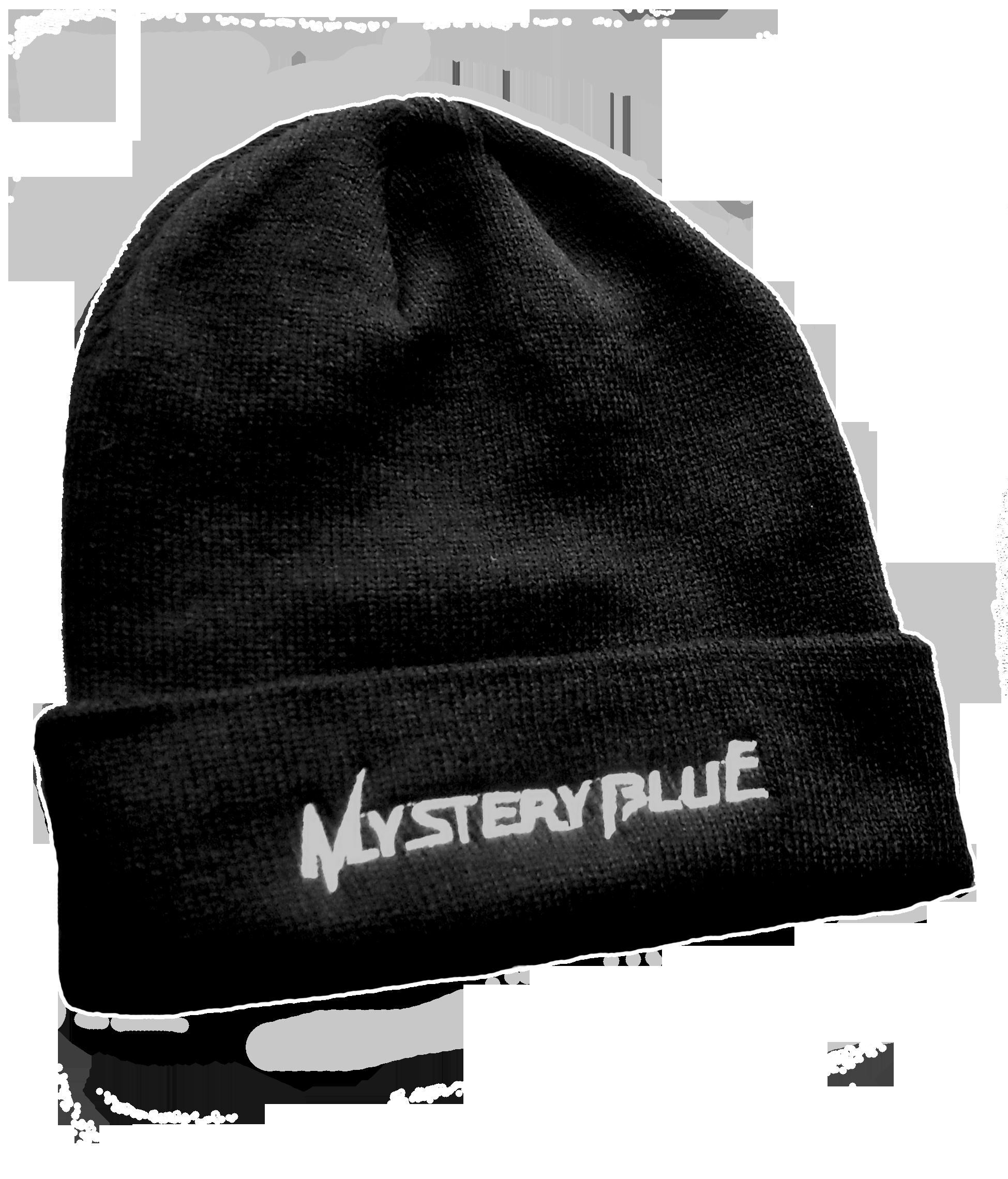 Mystery Blue Logo Beanie