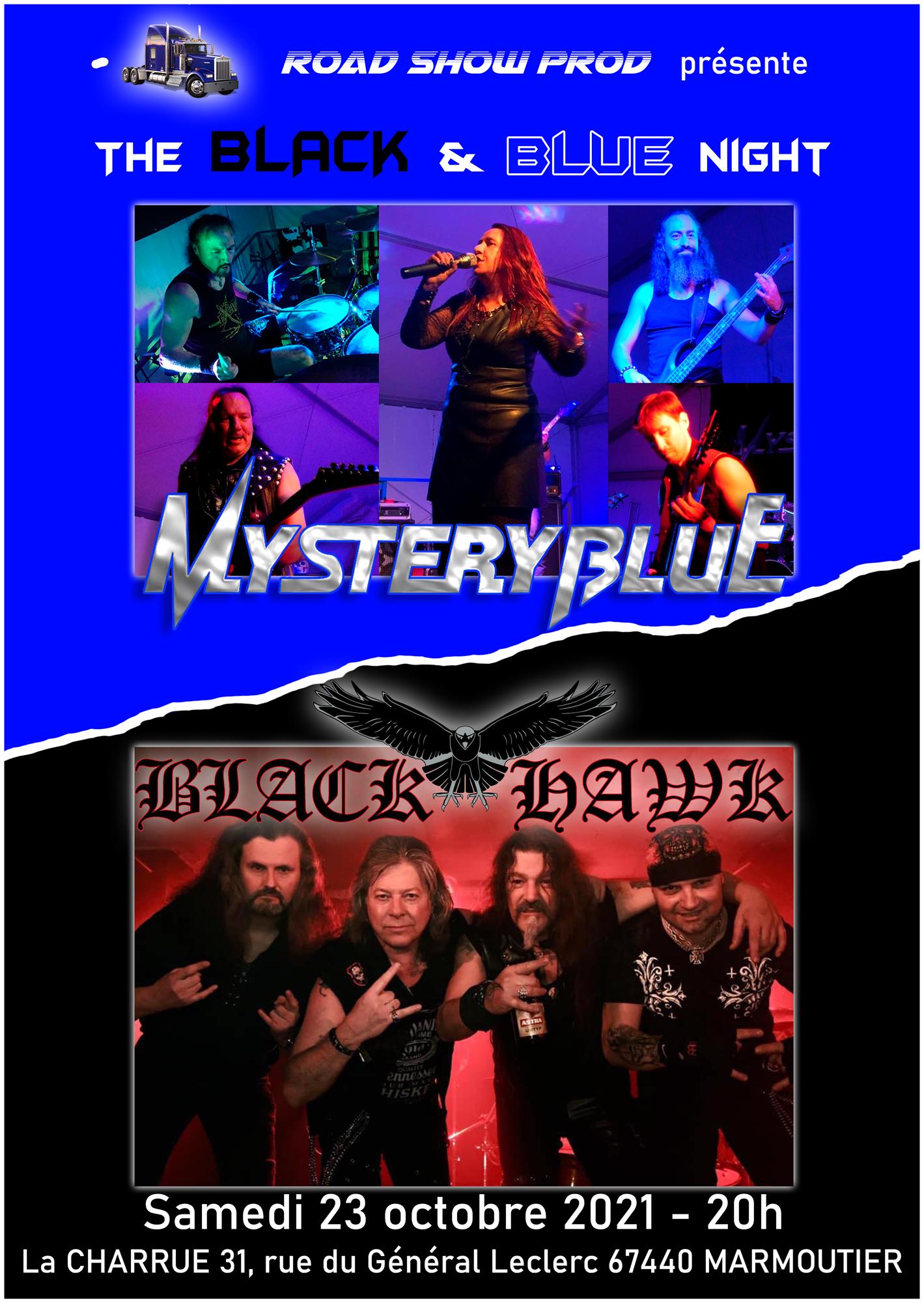 Black & Blue night